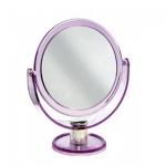 Espelho de Mesa Redondo Dupla Face