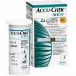 Fita Para Medir Diabetes Accu-Chek Active