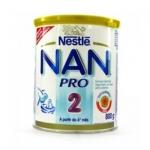 Leite Nan Pro 2 (6 meses de idade) 800g