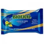 Toalhas Umedecida Biofral - 20 Lenços
